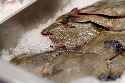 Monday: flatfish at the supermarket