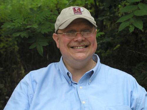 "New Jersey ""desktop conservationist"" Steve Eckstein."