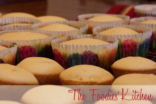 Lemon Cupcakes with Cream Cheese Frosting