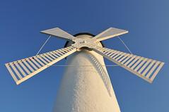 Wind-mill beacon (jake.morawski) Tags: sea architecture port seaside poland polska beacon pomorze świnoujście tokinaatx116