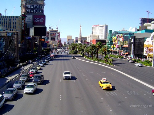 The strip, Las Vegas.