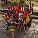 Burattini artigianali nella feria artesanal di El Bolson