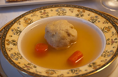 Chicken Soup and Matzoh Ball