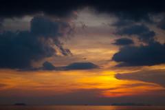 Dramatic sunset (Photocritic.org) Tags: travel thailand southeastasia kohlanta travelphotography olympusep1