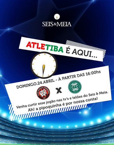 Flyer Atletiba by chambe.com.br