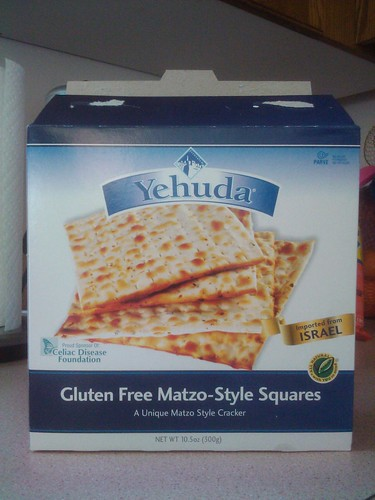Gluten Free Matzah!