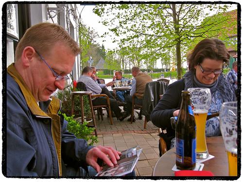 Han en Sandra bij Ludwig (Landgasthof Reirink) in Zwillbrock! ;^) by Marcel van Gunst