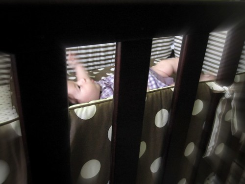 Baby in a Crib