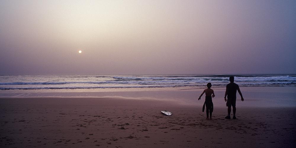 Guinchu beach / пляж Гиншу