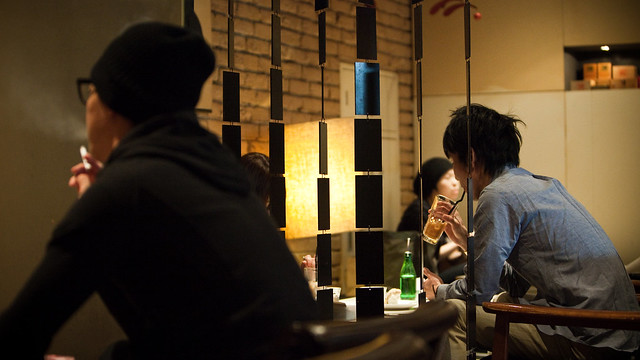 Caffeine in Ginza