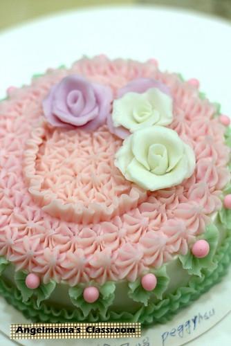 天使媽媽蛋糕皂教學 014
