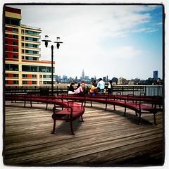 Sunny Pier of Jersey City