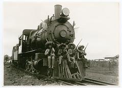 [Zapatistas and Nacional de Mexico, No. 739] (SMU Central University Libraries) Tags: mexico trains locomotives railroads mexicanrevolution revoluciónmexicana