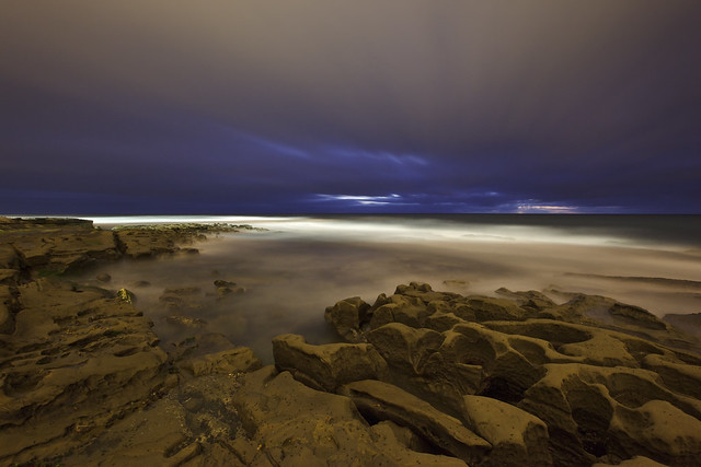 After Dusk at Windansea