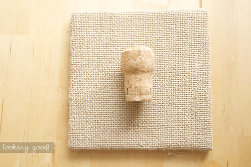 DIY cork shadowbox 4