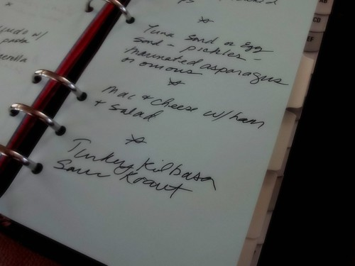 filofax menu