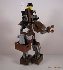 Steampunk Mech (Bricknave) Tags: lego mech steampunk moc bricknave