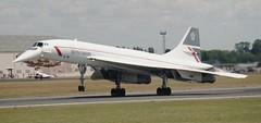 Concorde (Nigel Musgrove-2.5 million views-thank you!) Tags: concorde british 1995 airways raf fairford iat gboaf bacaerospatiale