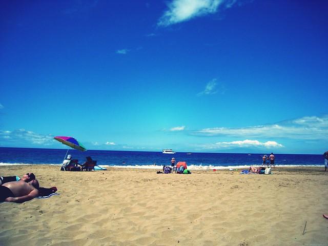 maui beach.