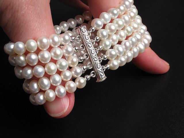 art silver design handmade craft jewelry bracelet pearl accessories sterling gem freshwater gemstone