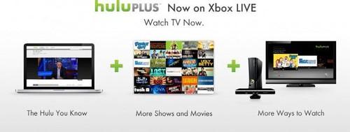 Hulu Plus on Xbox LIVE