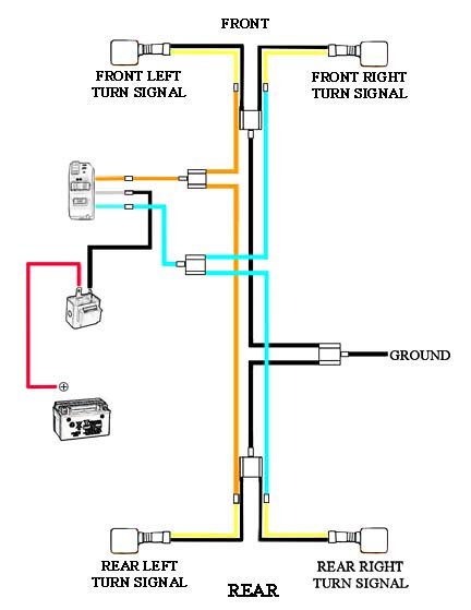 kpx 200 turn signal wiring diagram riders forums lighting diagram for riders by ecabo3 on flickr