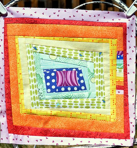 Faith in April ~ do.Good.Stitches Bee Block #2