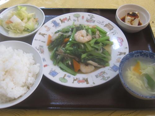 えびと野菜炒め@和興楼(江古田)