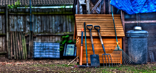 The Garden tools by TCR4x4