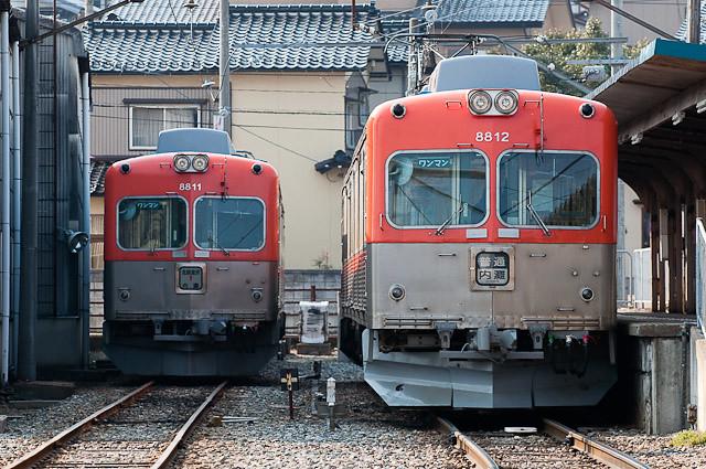 北陸鉄道浅野川線8800系 8801F 8802F