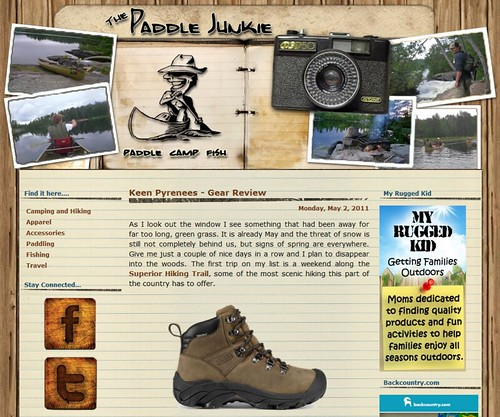 The Paddle Junkie - Keen Pyrenees - Gear Review