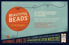 SGAAC Spring Social Poster (EFG!) Tags: wisconsin graphicdesign beads springgreen posterdesign springgreenareaartscoalition