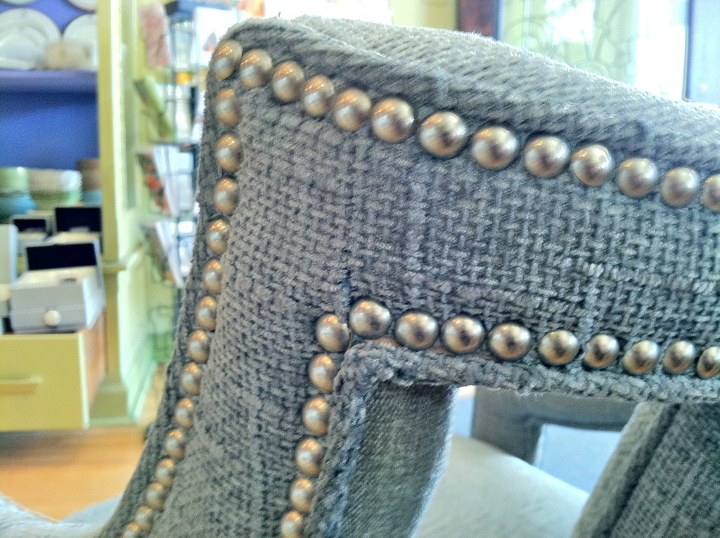 Reupholstered Vintage Slipper/Bergere Chair