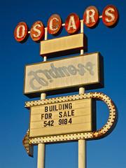 Oscar's, Lordsburg, NM (Robby Virus) Tags: newmexico building abandoned sign sale liquors oscars lordsburg