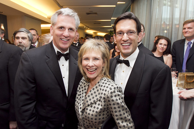 Kevin McCarthy, Dianna and House Majority Leader Eric Cantor
