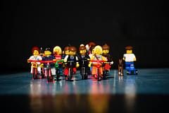 Citizen Cyclists 002 (Mikael Colville-Andersen) Tags: bike bicycle copenhagen toys cyclists lego vélo cyclechic copenhagenize citizencyclists citizencyclist