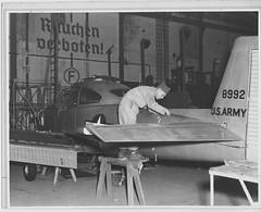 "04-01867 Ryan L-17 Navion c. 1947 (San Diego Air & Space Museum Archives) Tags: sdasm aviation aeronautics sandiegoairandspacemuseum ryan ""ryan aeronautical"" ""san diego"" ""lindbergh field"" navion ryannavion ryanl17navion l17navion ryanl17 airplane militaryaviation l17"