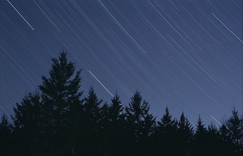 Kodak Gold 100 Test: Star Trail 1 by Nightfly Photography