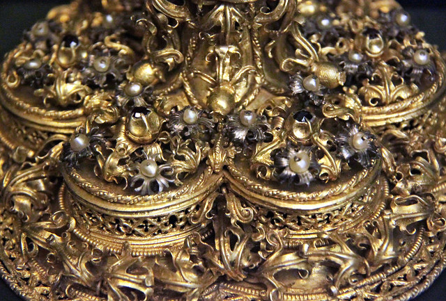 Detail - Medeval chalis, Hungarian