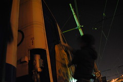 (Chriss Von Schwarzer) Tags: graffiti graff train panel panels chriss von schwarzer action vandal vandalism night notte nuit long exposure railway railfans notturna painting line lines