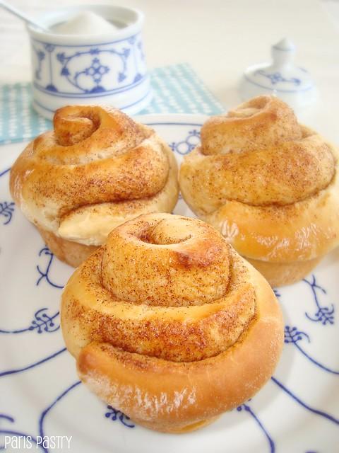 酸奶油早餐面包