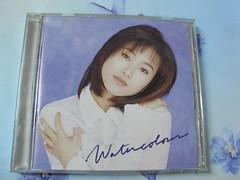 原裝絕版  1995年 7月  酒井法子 Water colour 水彩畫  CD 台灣 正規品 中古品