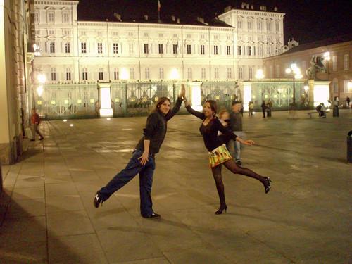 Con Iván, hace tres años