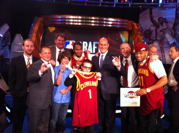 Cavs Win 2011 NBA Draft Lottery