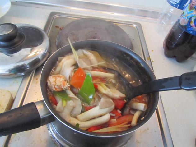 Thai spicy sour soup recipe