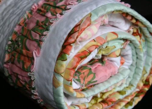 Ruffle Quilt - roll