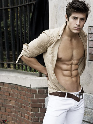 muscle cute guy hot handsome hunk