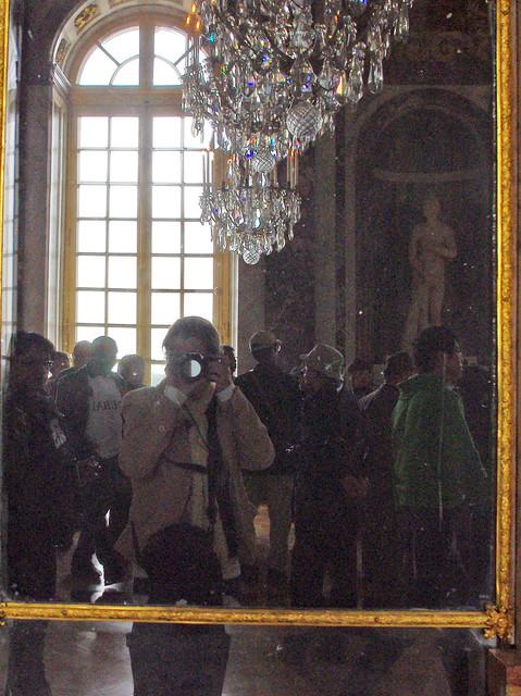 selfie in Versailles