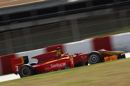 Dani Clos GP2 Series Montmeló
