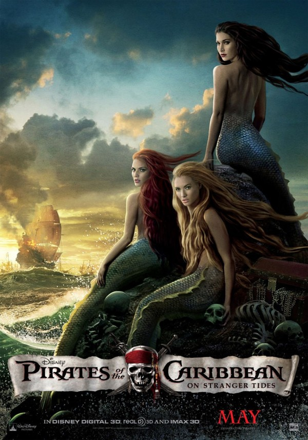 Pirates of the Caribbean On Stranger Tides - Mermaid Poster1